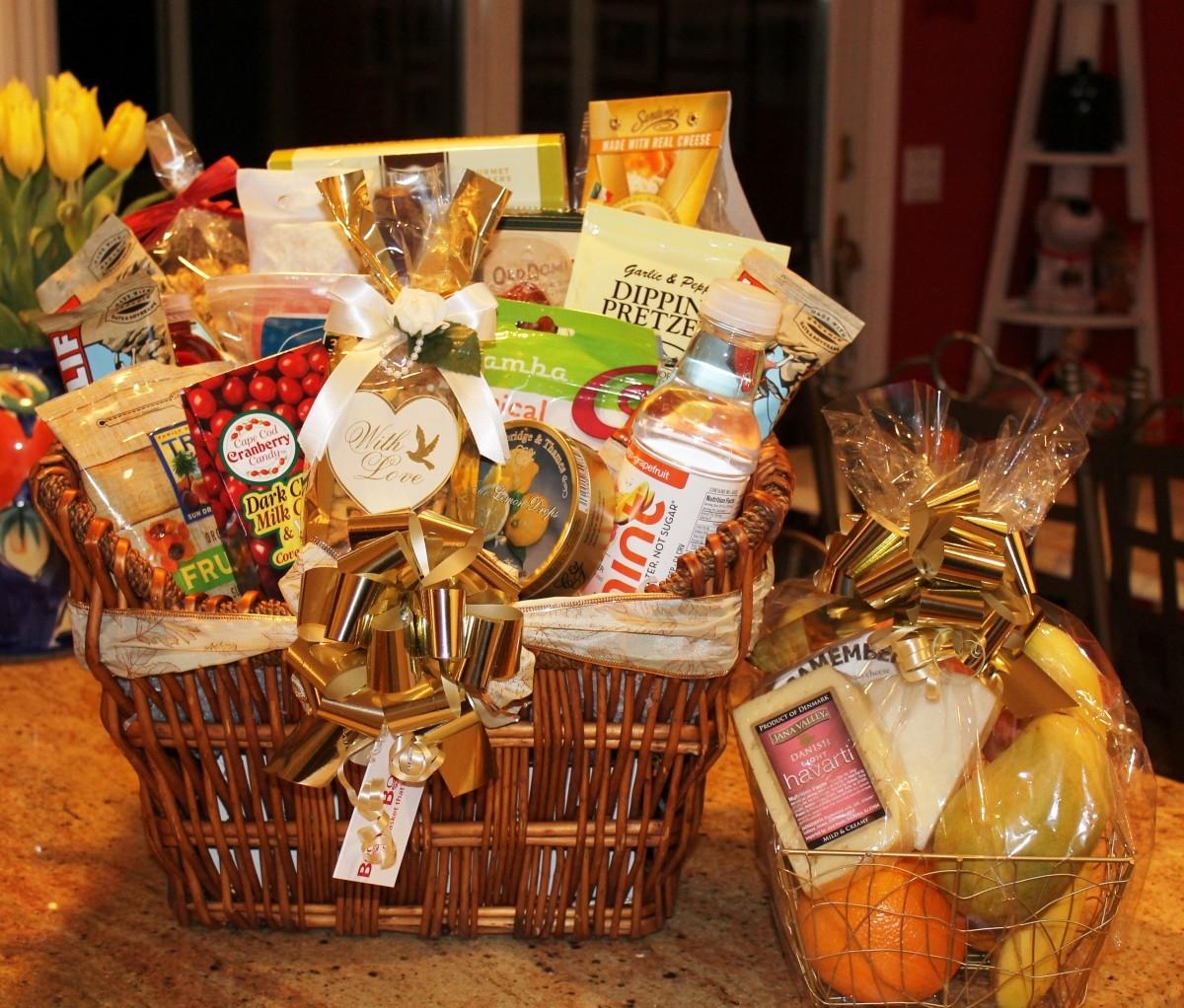 Custom Made Marathon Gift Basket Bravo Baskets