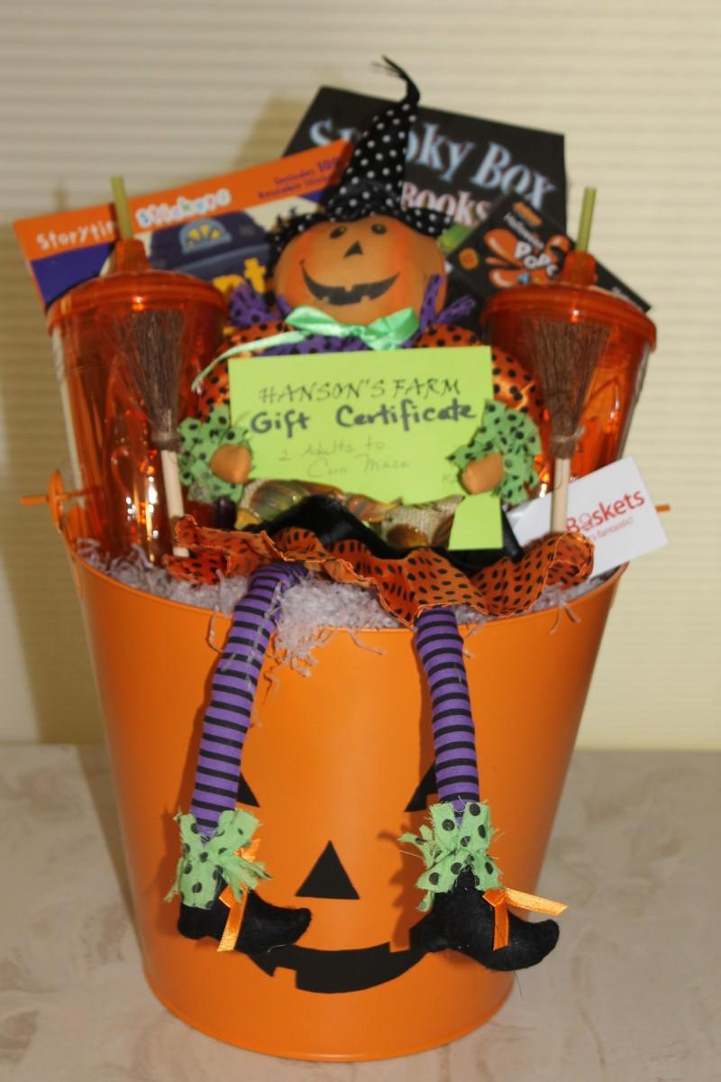 A happy halloween gift basket bravo baskets