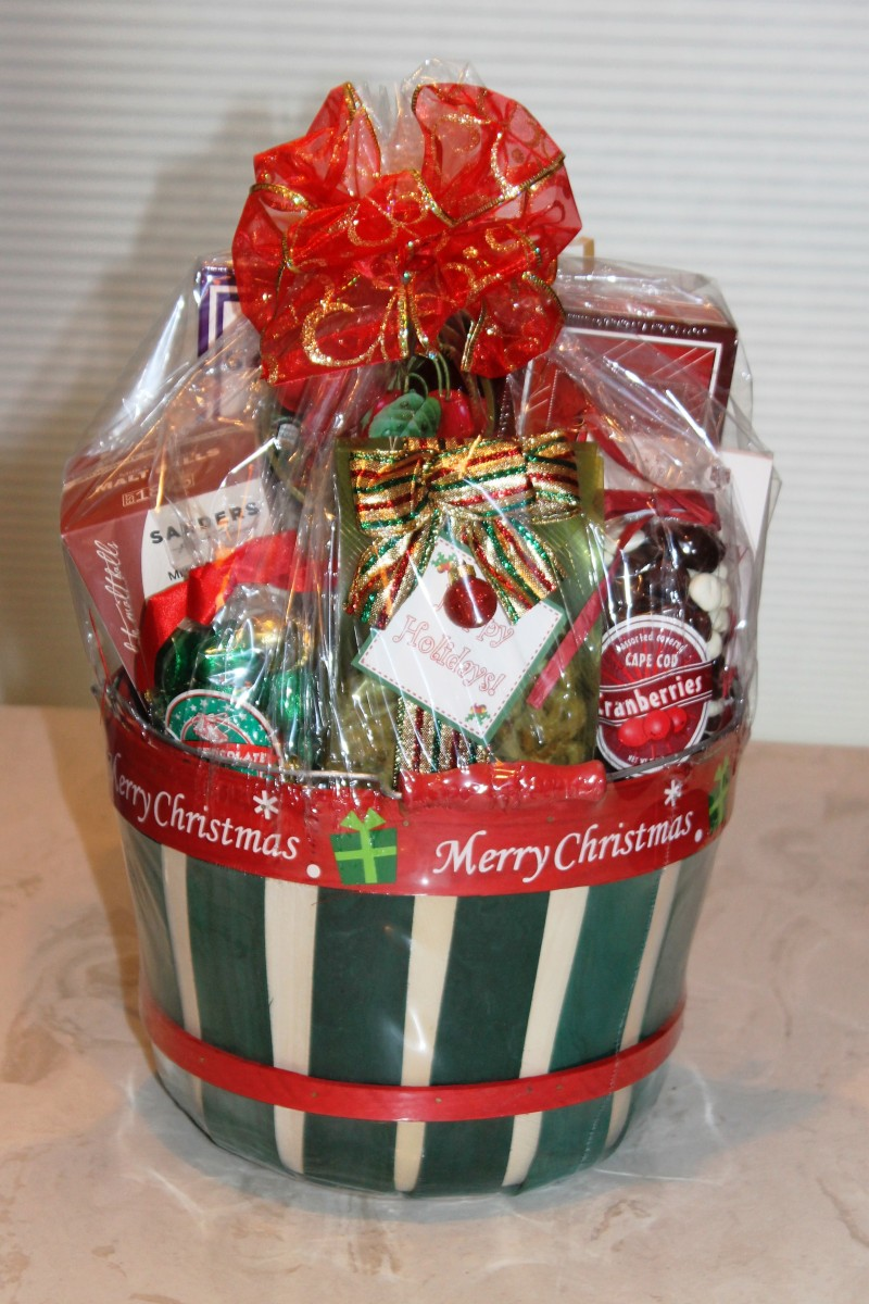 One of many holiday basket designs bravo baskets